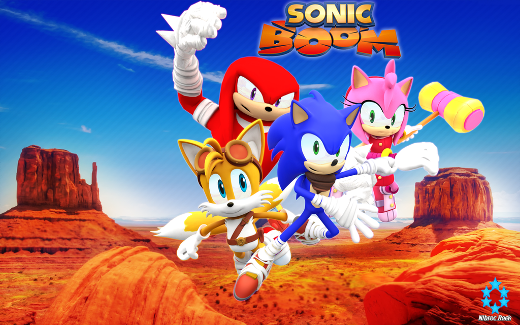 Sonic Boom Game Wallpaper