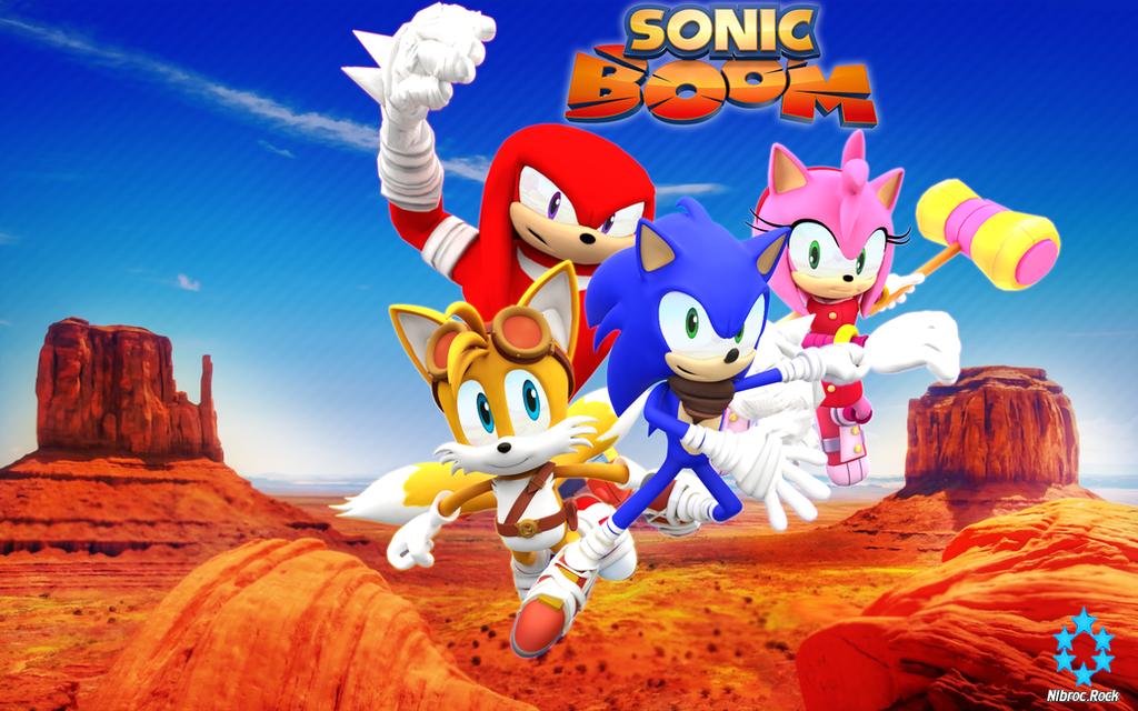 Sonic Boom Game Wallpaper