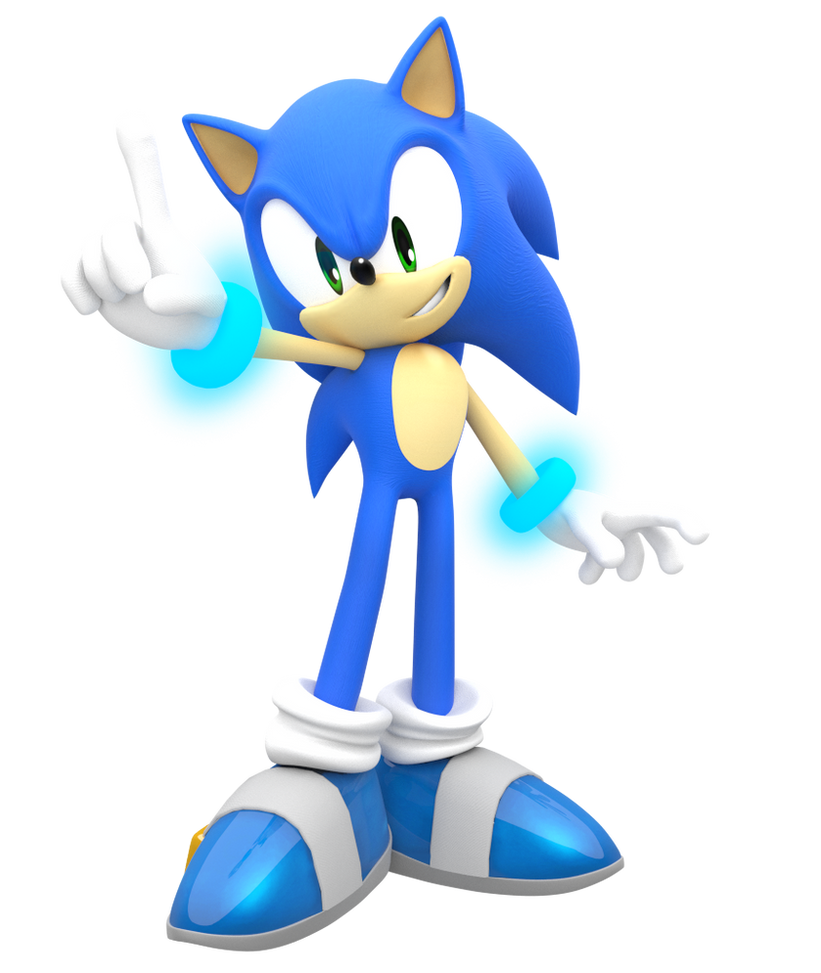 Smash Sonic All Star Pose Edit By Nibroc Rock On Deviantart