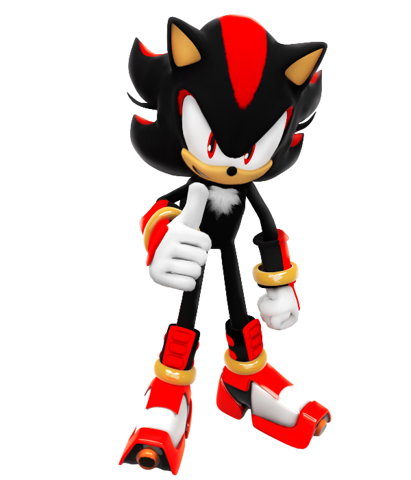 how to draw sonic boom shadow