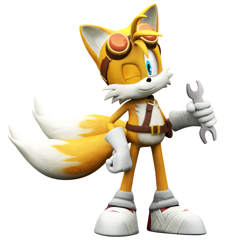 Tails Boom, Rise Of Lyric Model by Nibroc-Rock on DeviantArt