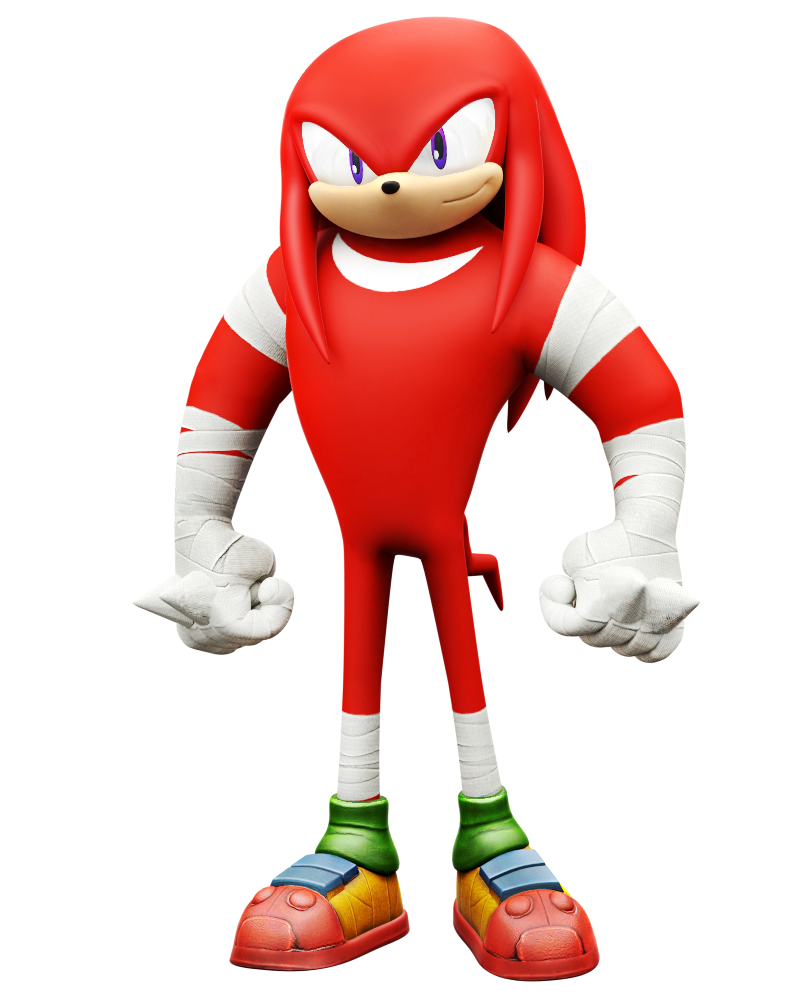 Knuckles Boom, Rise of Lyric Model by Nibroc-Rock on ...
