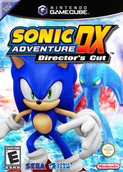 Sonic Adventure DX Box Art Remake! by Nibroc-Rock