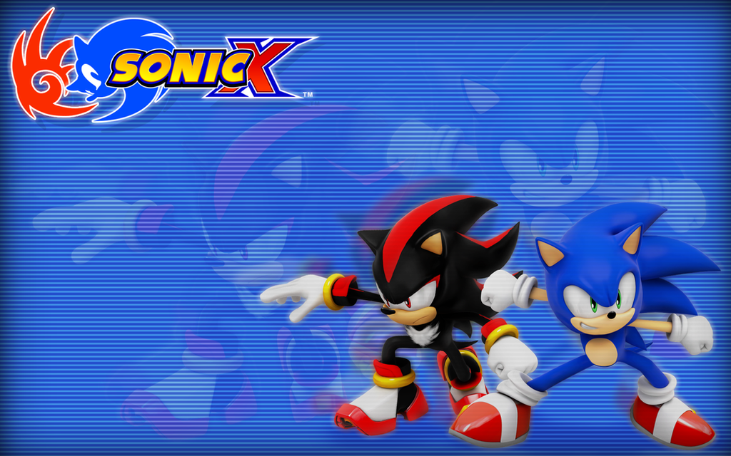 Sonic X And Shadow Wallpaper By Nibroc Rock