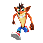 Crash Bandicoot Render