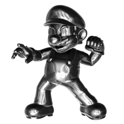 Metal Mario2/4 by Nibroc-Rock