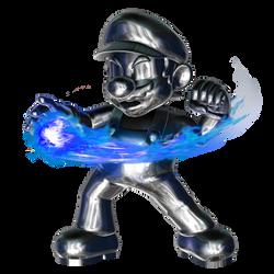 Metal Mario Fireball 4/4