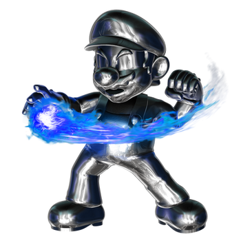 Metal Mario Fireball 4/4 by Nibroc-Rock