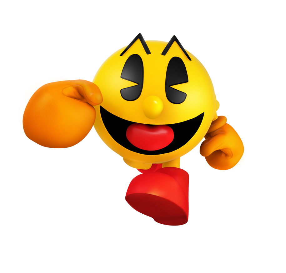 pac man world remake render by nibrocrock on deviantart