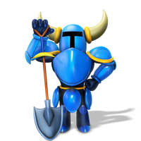 Shovel Knight Render by Nibroc-Rock