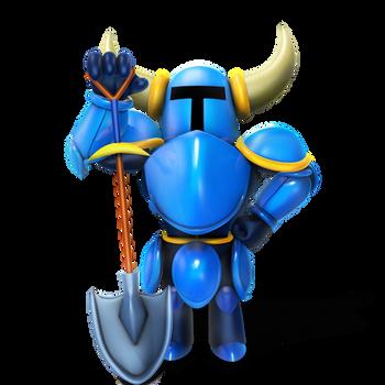 Shovel Knight Render by Nibroc-Rock