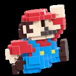 8-bit Mario Smash Style 3/8