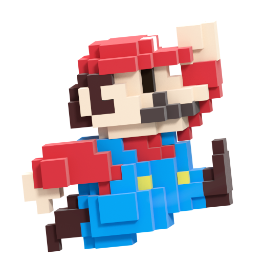 8 bit mario smash style 3 8 by nibroc rock on deviantart - Pictures of 8 bit mario ...