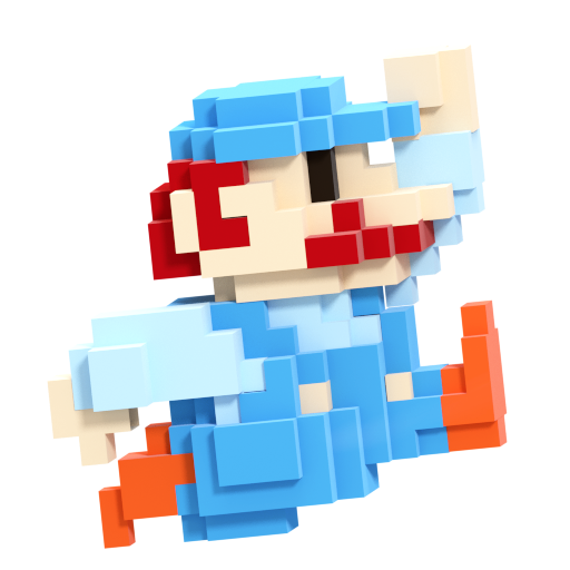8 bit mario smash style 7 8 by nibroc rock on deviantart - Pictures of 8 bit mario ...