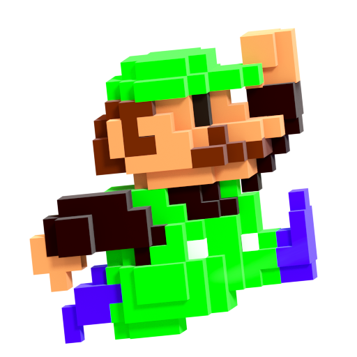8 Bit Mario Smash Style 8 8 By Nibroc Rock On Deviantart
