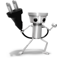 Chibi-Robo, Smash Bros Style Render by Nibroc-Rock