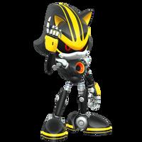 Eggman Nega Sends in Metal Sonic 3.0! by Nibroc-Rock