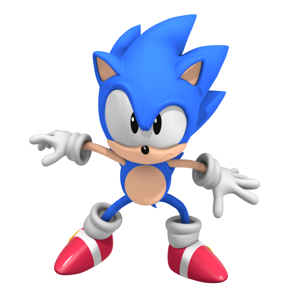 Classic Sonic! CD Pose By Nibroc-Rock On DeviantArt