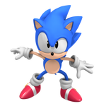 Classic Sonic! CD Pose