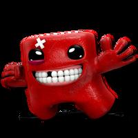 MeatBoy Render by Nibroc-Rock
