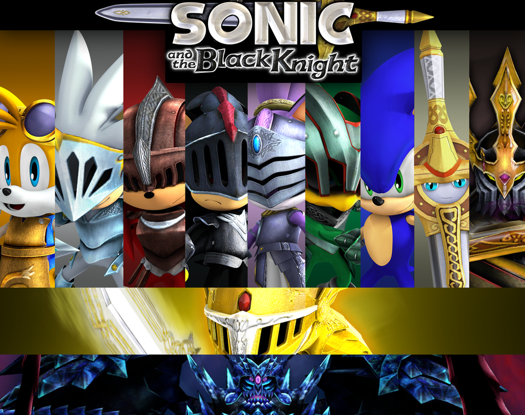 Sonic and the black knight renders checklist by nibroc for 12 knights of the round table characters