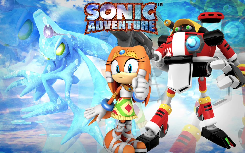 Group Of Adventures Sonic 1 Wallpaper