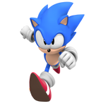 Classic Sonic The Hedgehog, Render WttP1/4