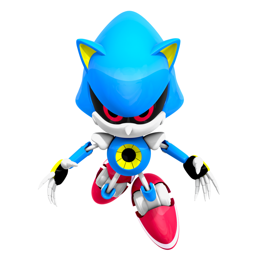Classic Metal Sonic Render, WttP 4/4 By Nibroc-Rock On