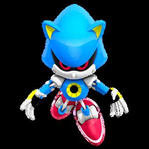 Classic Metal Sonic Render, WttP 4/4