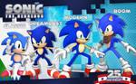 Sonic 25th anniversary: Through the Eras!