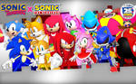 SonicClassic X SonicModern Wallpaper Size2880X1800
