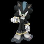 Mephiles the Dark Shadow Form Render