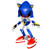Dreamcast Era Metal Sonic Render by Nibroc-Rock