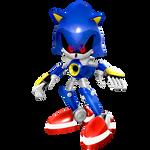Dreamcast Era Metal Sonic Render