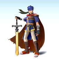 Smash4 Mod: Brawl Ike by Nibroc-Rock