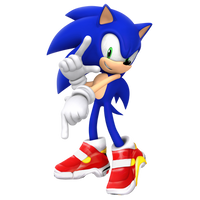 SA2OP's 25th anniversary pose in 3D