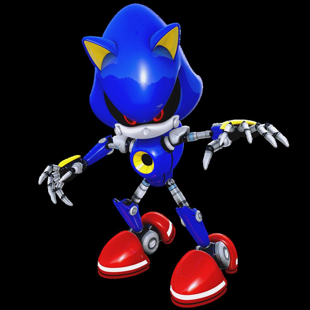 Eggman Metal Sonic by SonicTheEdgehog on DeviantArt