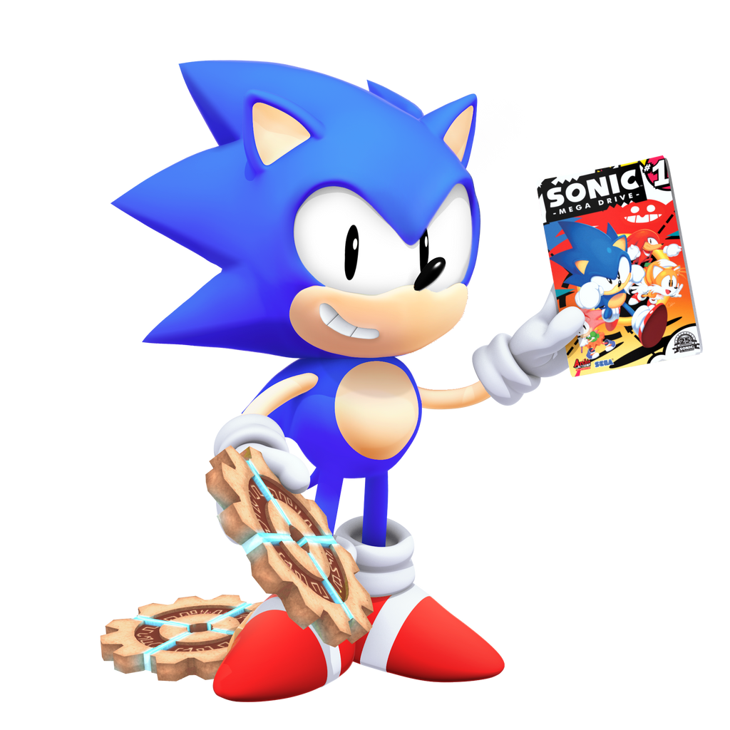 Classic Sonic: Tyson Heese Style in 3D
