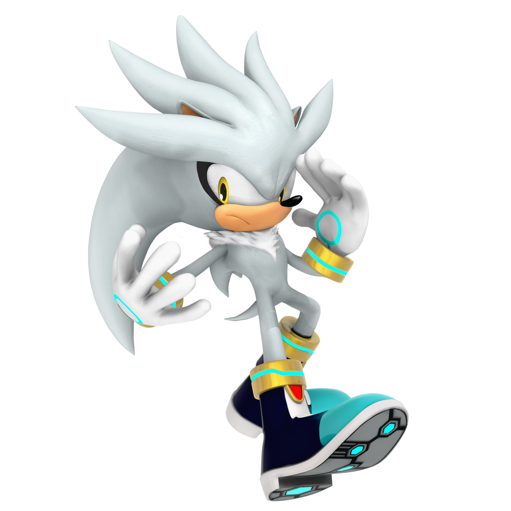 Ice silver the hedgehog