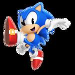 Classic Sonic Jump Pose (Version 2)