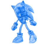 Clear Blue Sonic Render