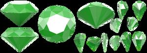 Master Emerald Set