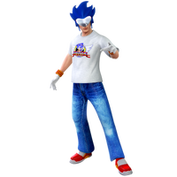 Sonicman 10th anniversary render by Nibroc-Rock