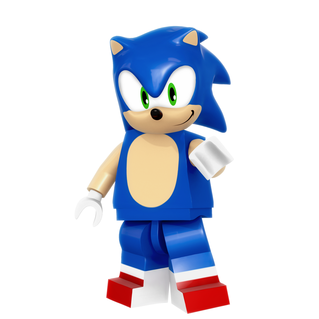 Lego Sonic Render By Nibroc Rock On Deviantart