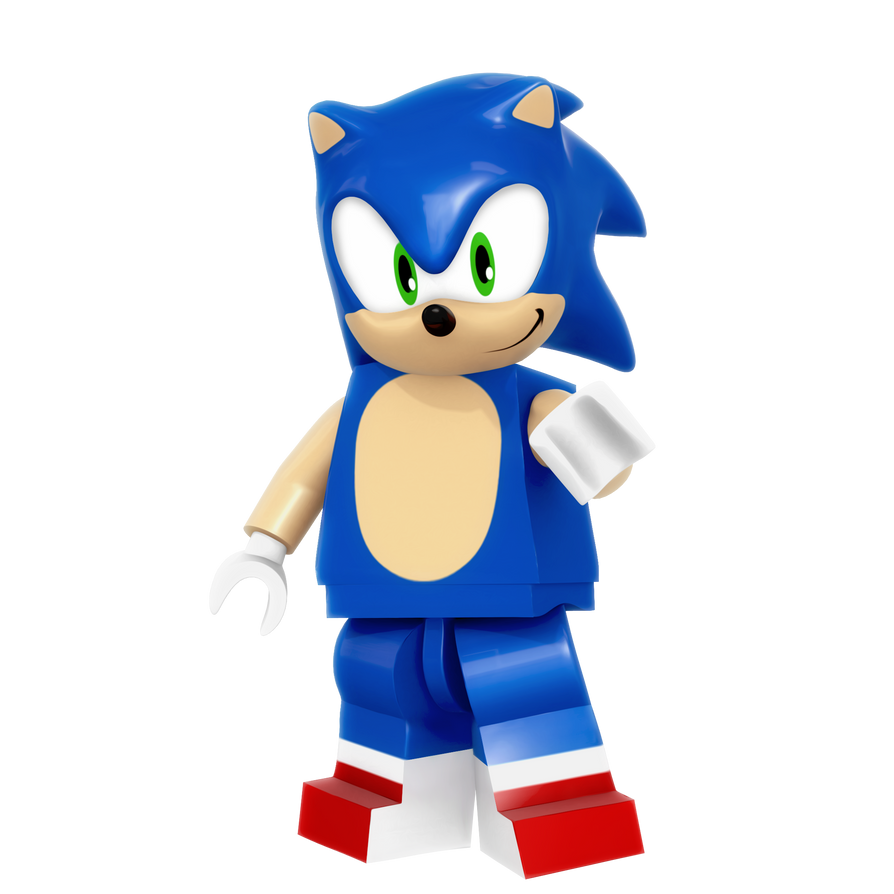 Lego Sonic Render By Nibroc-Rock On DeviantArt