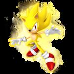 Super Sonic Legacy Render