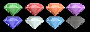 Super Emeralds set Angle1