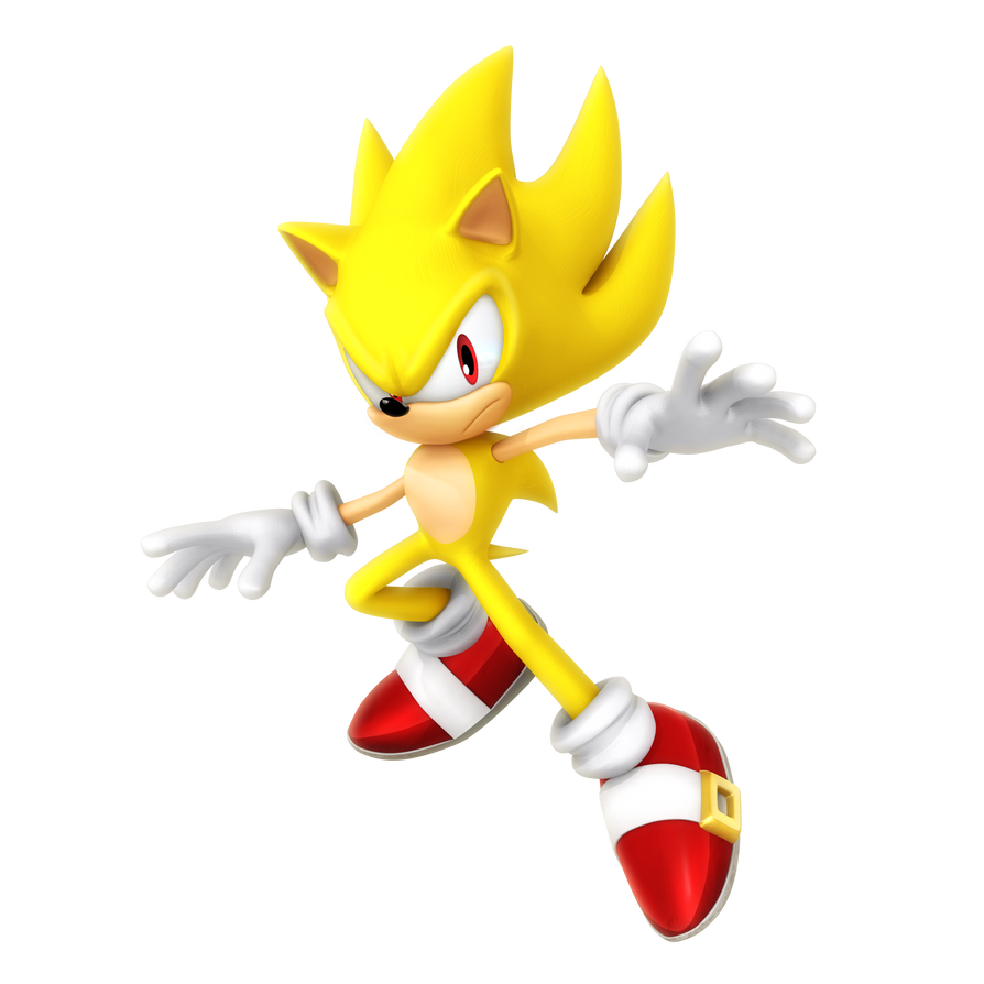Super sonic legacy render auraless by nibroc rock on - Super sonic 6 ...