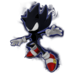 Dark Super Sonic Render