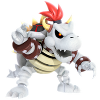 Dry Bowser New Render by Nibroc-Rock